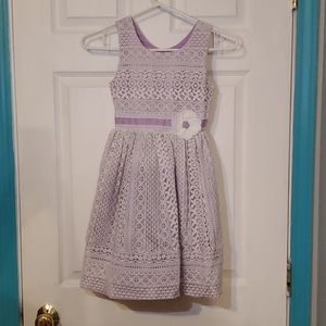 Like New Jona Michelle Girls Lace Dress